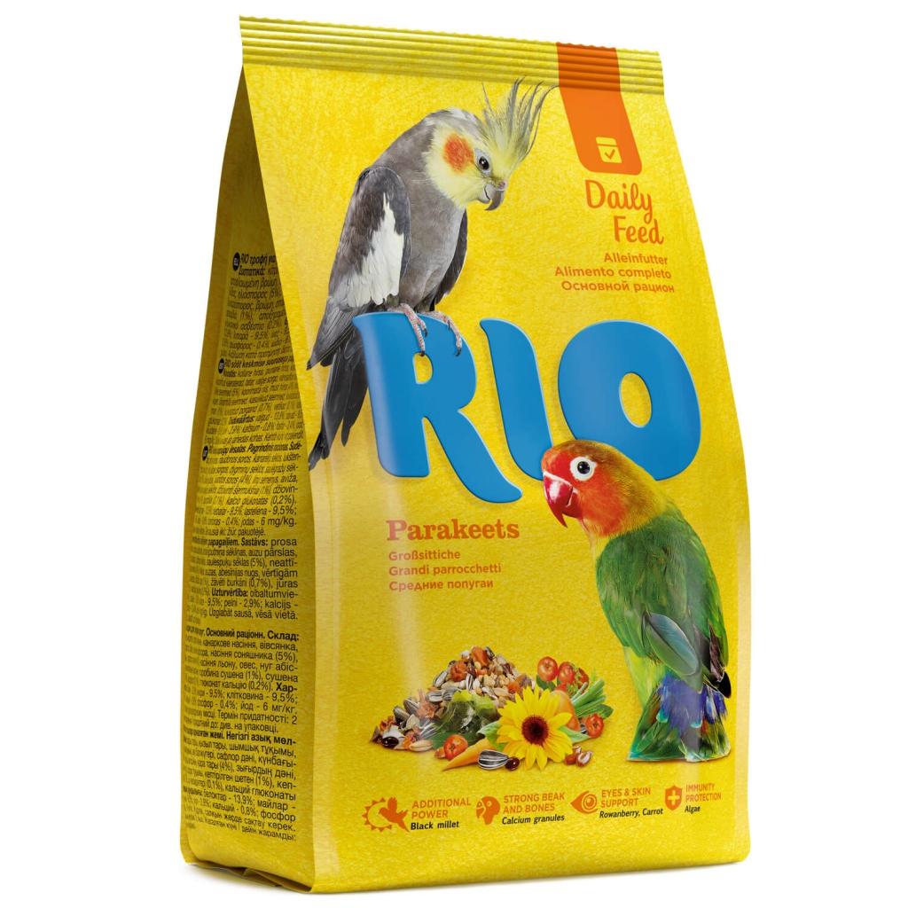 РИО Корм для средних попугаев, Основной рацион, в ассортименте, RIO