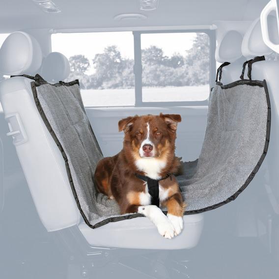 Трикси Подстилка для собаки в автомобиль меховая, 145*160 см, Trixie