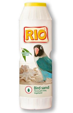 Рио Песок гигиенический для птиц с экстрактом эвкалипта, 2 кг, банка