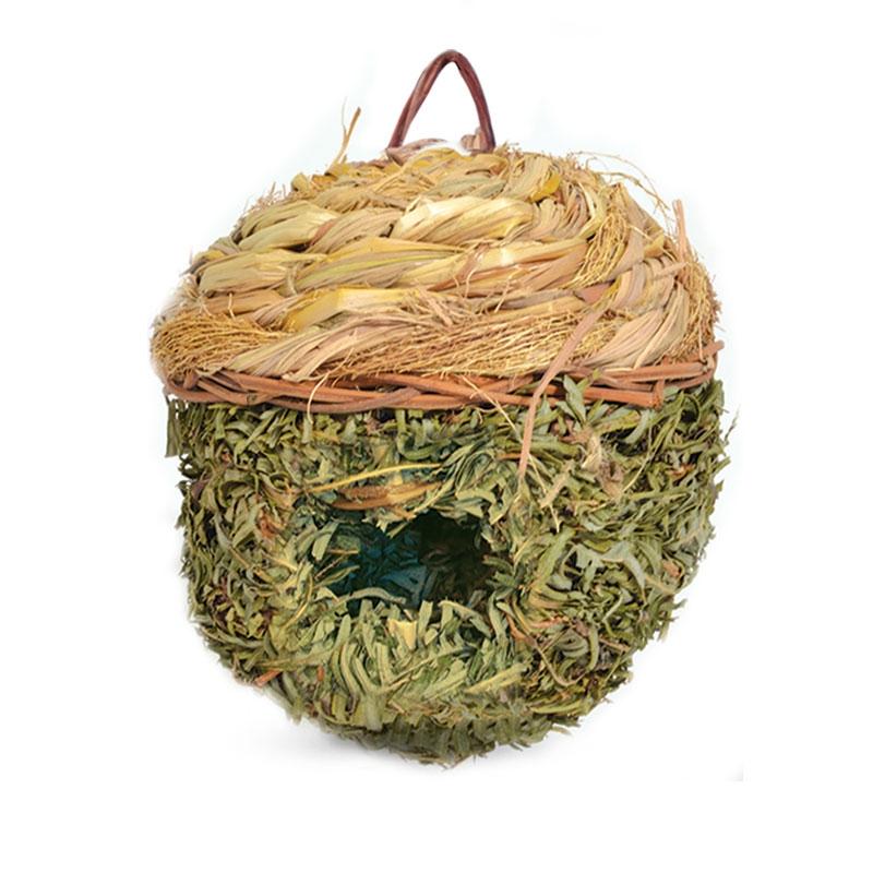 Триол Домик плетеный Желудь с круглой крышей, диаметр 15 см, Triol