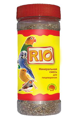 РИО Минеральная смесь для пищеварения всех видов птиц, 600 г, РИО