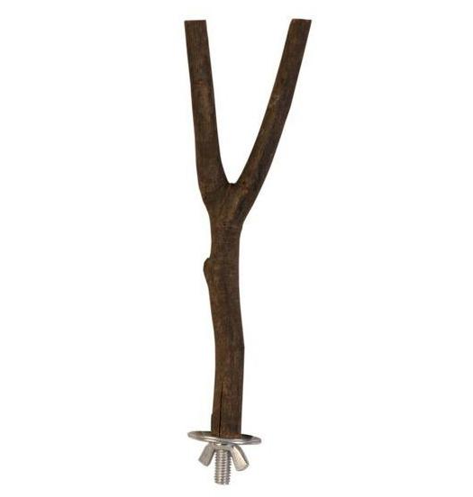 Трикси Жердочка-рогатка с винтовым металлическим креплением к клекте, Trixie