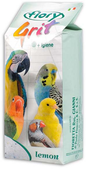 Фиори Песок морской для всех видов птиц, Fiory Grit, в ассортименте, 1 кг, Fiory