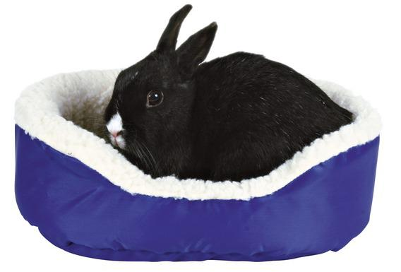 Трикси Лежак для животных двусторонний, нейлон/под мех ягненка, 35*28*11 см, Trixie