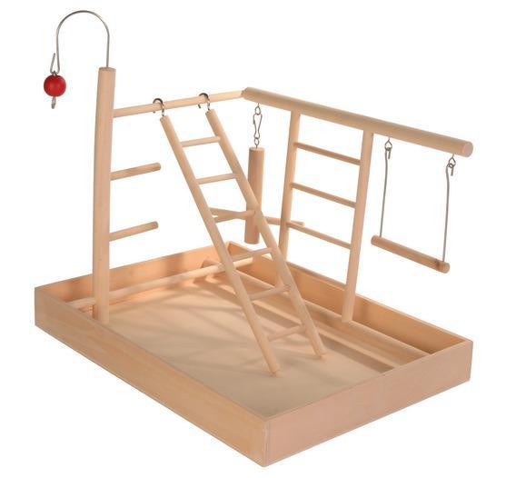 Трикси Игровая площадка для мелких попугаев, 34*26*25 см, Trixie