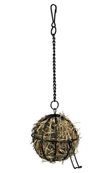 """Трикси Подвесная кормушка-сенница для грызунов """"Шар"""", 8 и 12 см, металл, Trixie"""
