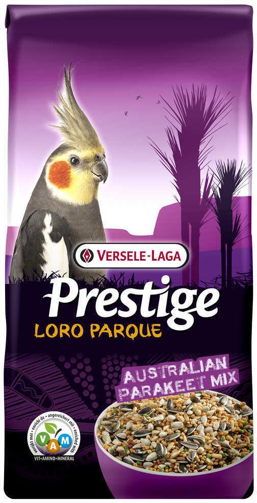 Верселе Лага Корм Premium Australian Parakeet Loro Parque Mix для средних австралийских попугаев Премиум, в ассортименте, Versele-Laga
