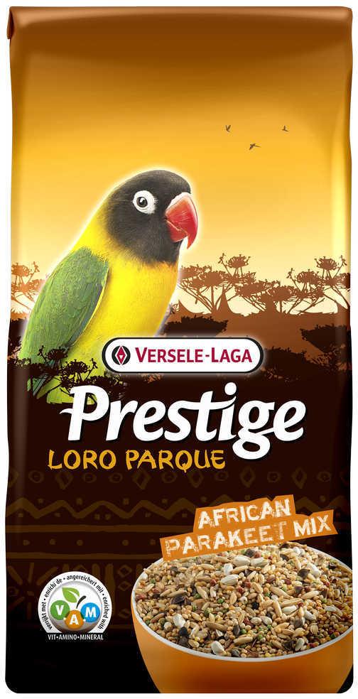Верселе Лага Корм для средних африканских попугаев Премиум Prestige PREMIUM African Parakeet Loro Parque Mix, в ассортименте, Versele-Laga