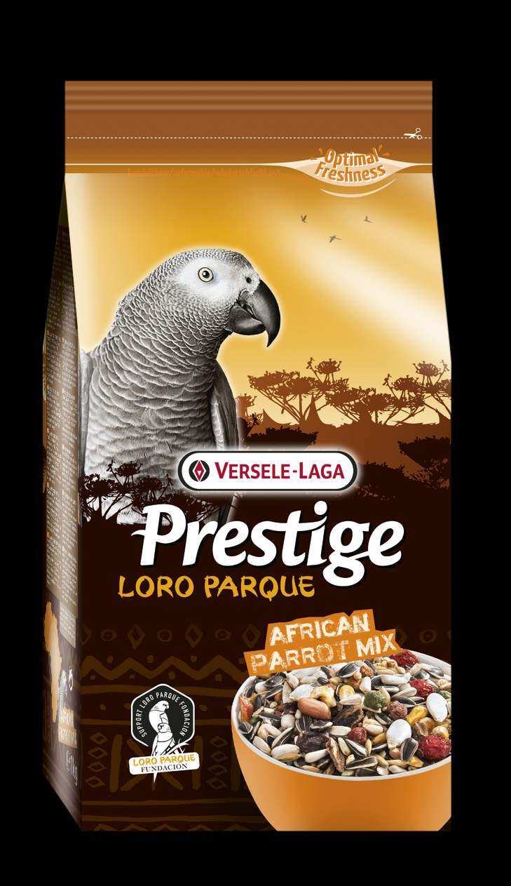 Верселе Лага Корм Prestige Premium African Parrot Loro Parque Mix для крупных африканских попугаев Премиум, 3 весовки, Versele-Laga
