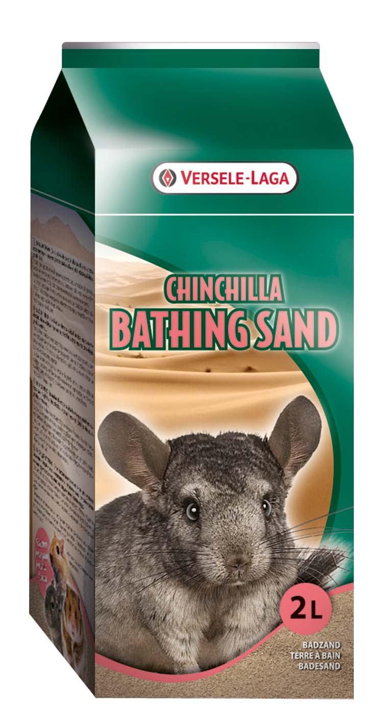 Верселе Лага Песок для купания шиншилл, дегу, песчанок, хомяков Chinchilla Bathing Sand, в ассортименте, Versele-Laga