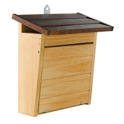 Ферпласт Домик для птиц Natura 8 (деревянный), 28 x 12 x h 28,7 см, Ferplast