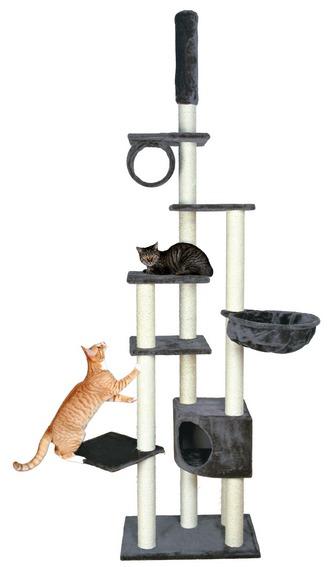 Трикси Комплекс для кошки Madrid с упором в потолок, 68*44 см, высота 245-270 см, в ассортименте, Trixie