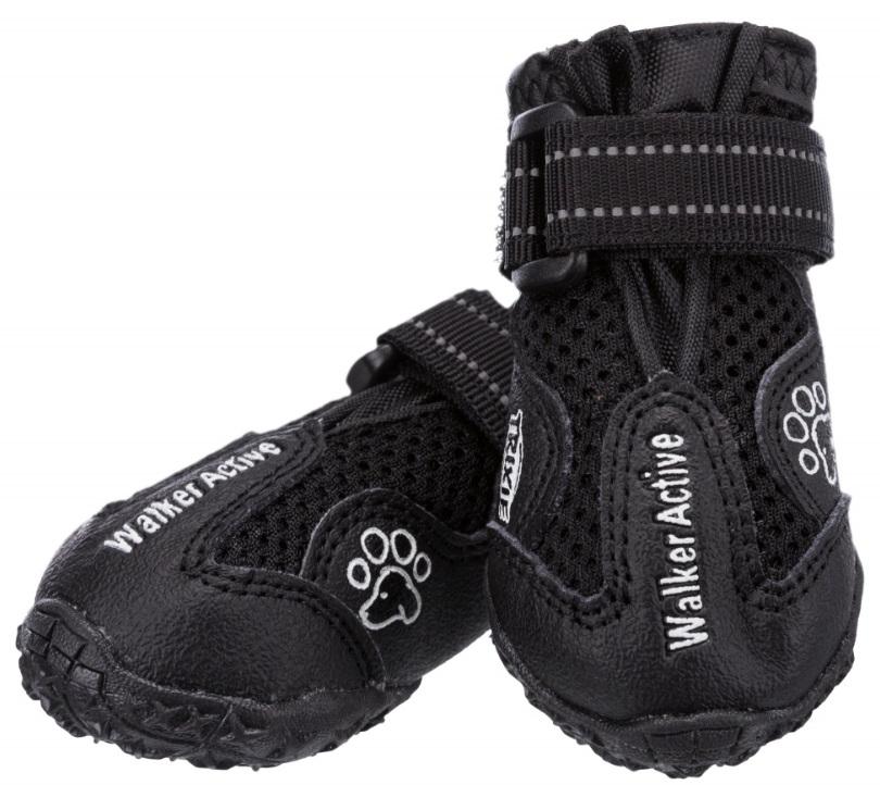 Трикси Ботинки Walker Active для собак, 2 ботинка в упаковке, в ассортименте, Trixie