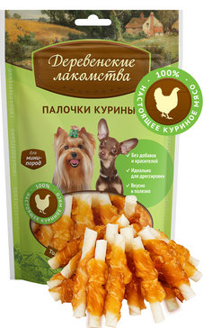Деревенские лакомства для собак мини-пород, в ассортименте