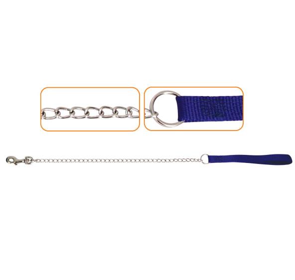 Триол Поводок-цепь с нейлоновой ручкой, в ассортименте, Triol
