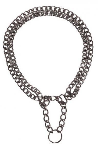 Трикси Ошейник-цепь двухрядный с цугом, сталь, в ассортименте, Trixie