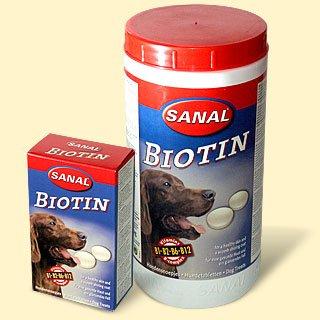 Санал Биотин Витаминный комплекс для собак Sanal Biotin, для кожи и шерсти, 100 шт, Sanal