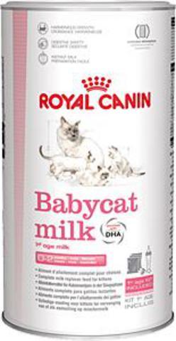 Роял Канин Набор для кормления Babycat milk - молоко для котят до двух месяцев с бутылочкой, сосками и мерной ложкой в комплекте, 300 г, Royal Canin