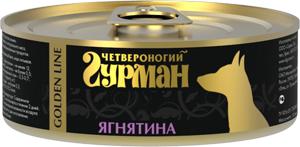 Четвероногий гурман Консервы для собак Золотая линия, 100 г, в ассортименте