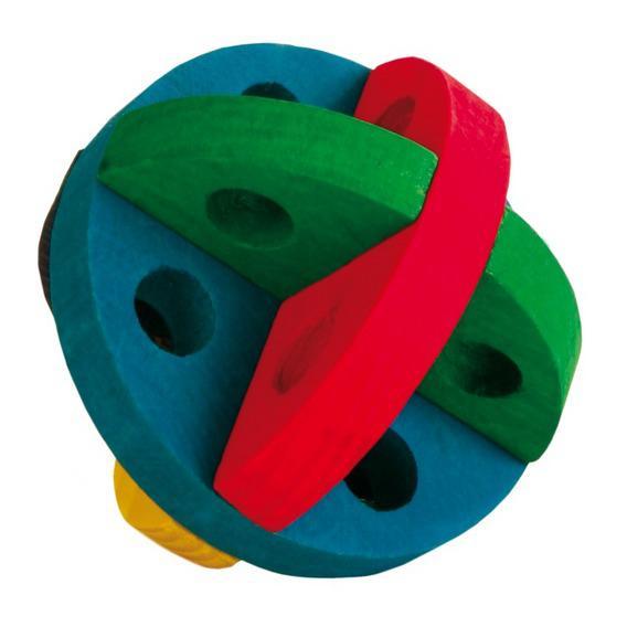 Трикси Мяч для игр и лакомства, для грызунов и хорьков, диаметр 8,5 см, Trixie