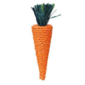 Трикси Игрушка Морковь, сизаль, 20 см, Trixie