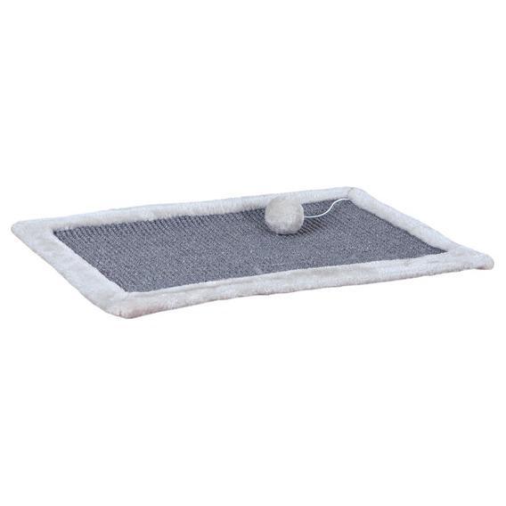 Трикси Когтеточка-коврик для кошки, серый, 55*35 см, Trixie