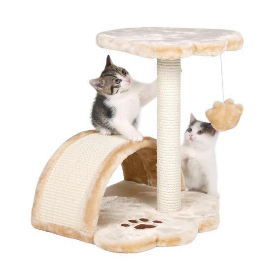 Трикси Домик для кошки Vitoria, 36*36*43 см, бежевый, Trixie