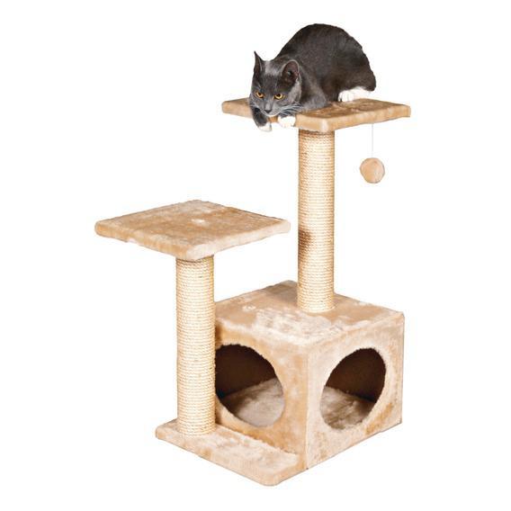 """Трикси Игровой комплекс для кошки """"Valencia"""", 44*33*71 см, бежевая, Trixie"""