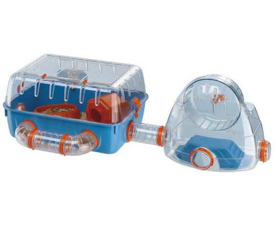 Ферпласт Клетка Combi 2 со спортзалом для мелких грызунов, 79,5*29,5*26,3 см, Ferplast