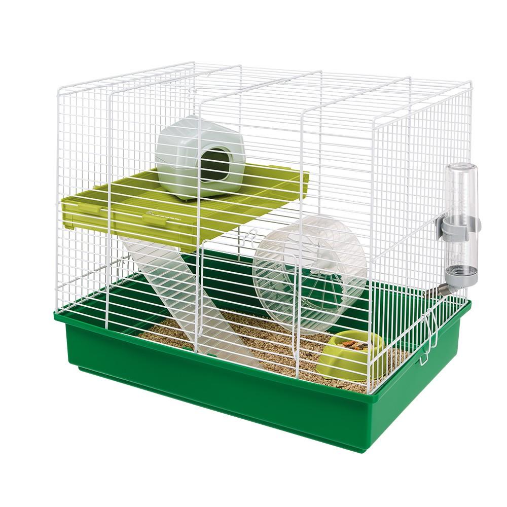 Ферпласт Клетка Hamster Duo для грызунов, 46*29 *37,5 см, Ferplast