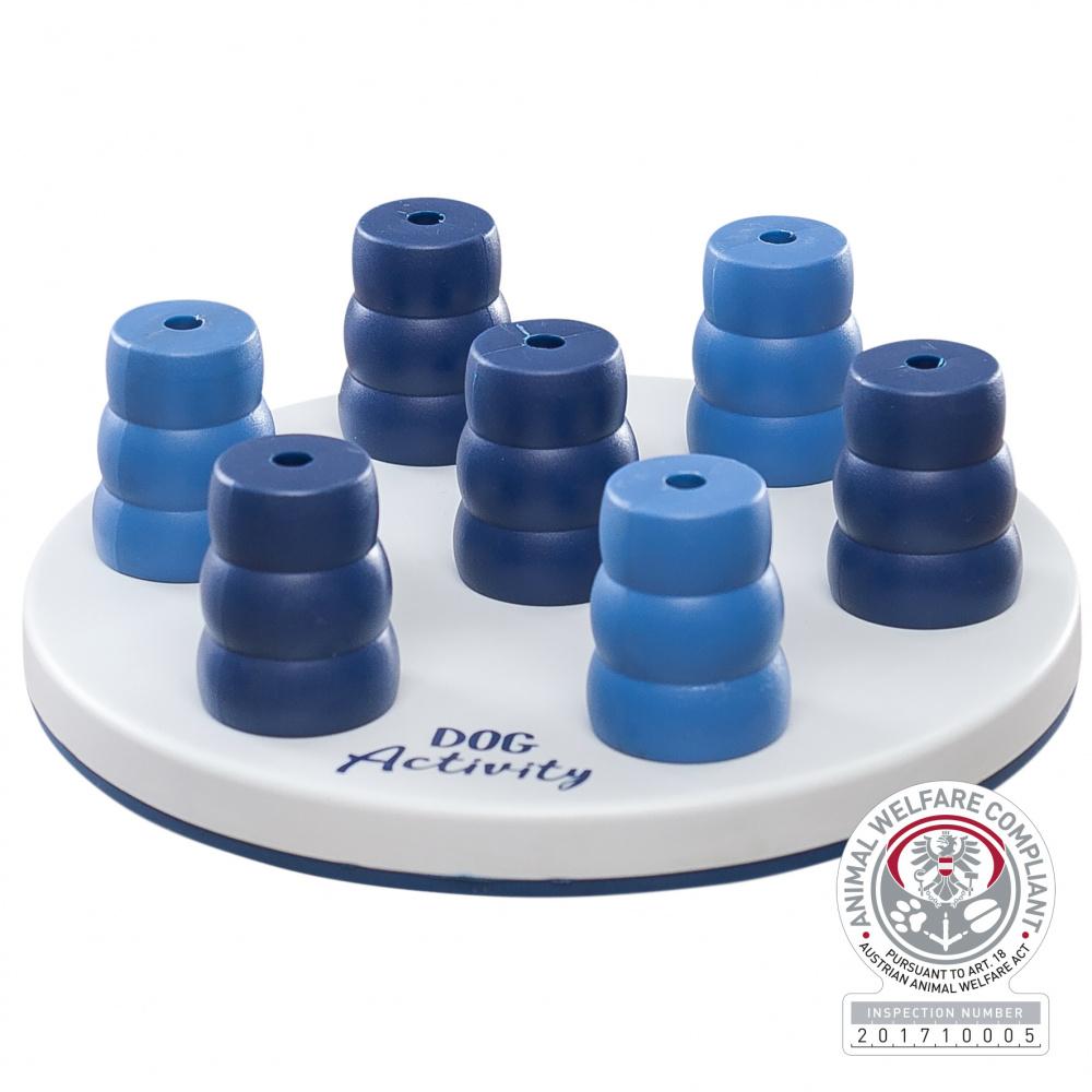 Трикси Развивающая игрушка для собак Solitaire, диаметр 20 см, в ассортименте, Trixie