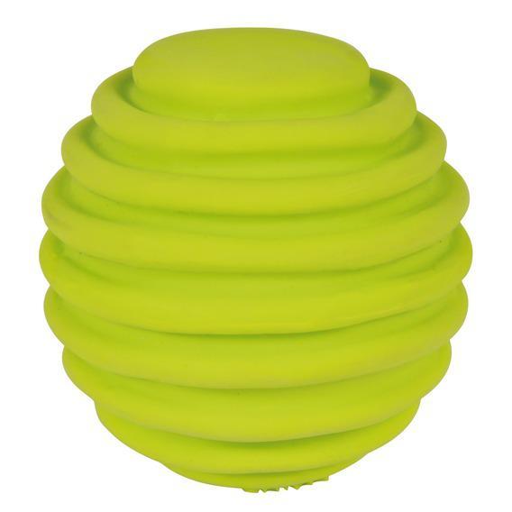 """Трикси Игрушка """"Мяч ребристый"""", латекс, диаметр 6 см, Trixie"""