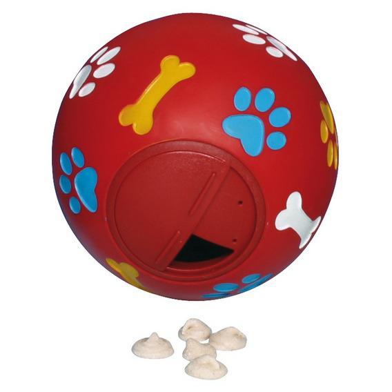 Трикси Мяч виниловый для лакомства, 3 размера, Trixie
