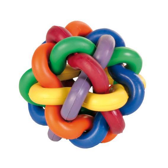Трикси Мяч плетеный из резины (натуральный каучук), в ассортименте, Trixie