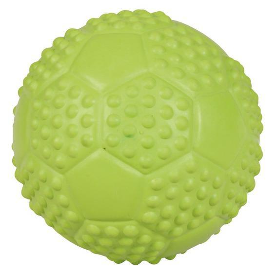 Трикси Мяч футбольный со звуком, в ассортименте, резина, Trixie