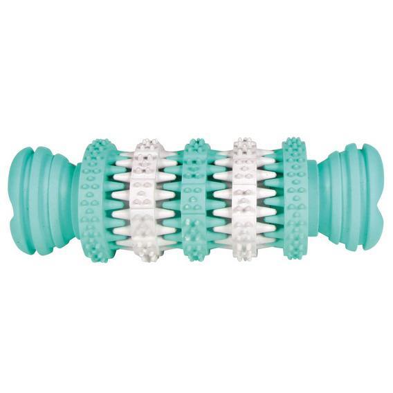 Трикси Игрушка-кость Denta Fun, белый/зеленый, в ассортименте, Trixie