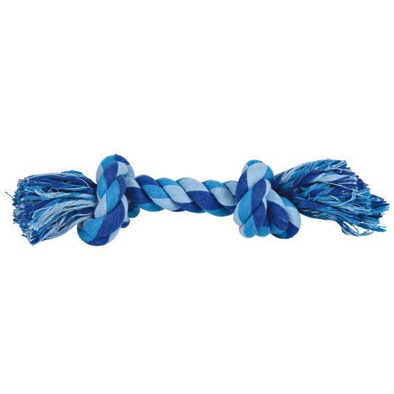 Трикси Веревка цветная с двумя узлами, хлопок, 3 размера, Trixie