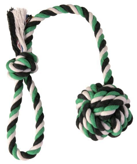 """Трикси Веревка с узлом """"DentaFun"""", хлопок, 2 размера, Trixie"""