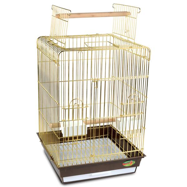 Триол Клетка 1038A-G с открывающимся верхом для птиц, 47,5*47,5*68,5 см, Triol