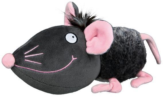 """Трикси Игрушка """"Мышь"""", шуршит и пищит, 33 см, плюш, Trixie"""
