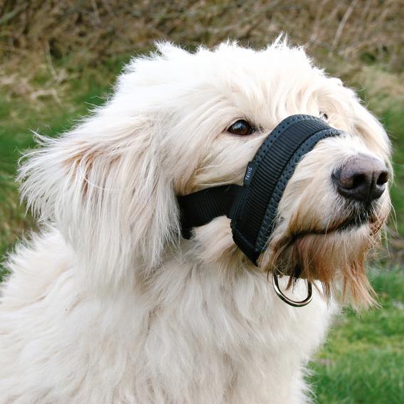 Трикси Намордник-петля для собак крупных пород, нейлон, с мягкой обивкой, 3 размера, Trixie