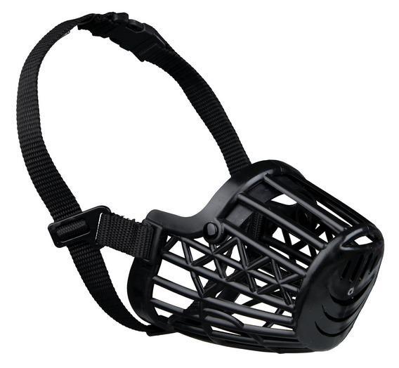 Трикси Намордник для собак пластиковый черный, в ассортименте, Trixie