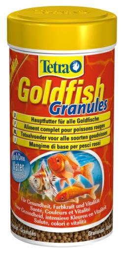 Тетра Корм Goldfish Granules для золотых рыбок, гранулы, 3 весовки, Tetra