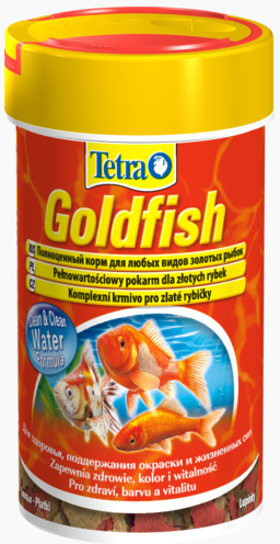 Тетра Корм Goldfish Food для золотых рыбок, хлопья, 5 весовок, Tetra