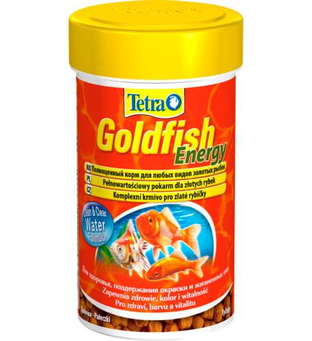 Тетра Корм Goldfish Energy энергетический для золотых рыбок, палочки, 2 весовки, Tetra