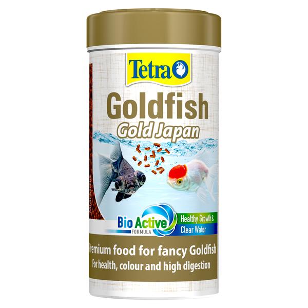 Тетра Корм премиум-класса Goldfish Gold Japan для селекционных золотых рыбок, гранулы, 250 мл, Tetra