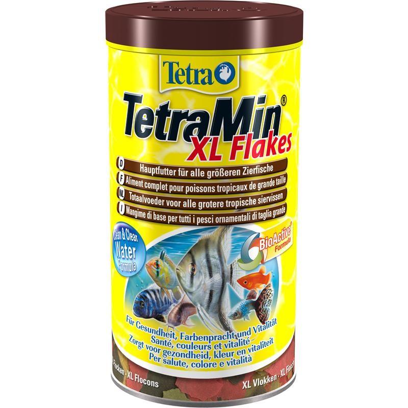 Тетра Корм TetraMin XL для всех видов рыб, крупные хлопья, TetraMin Flakes XL, 3 весовки, Tetra