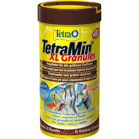 Тетра Корм TetraMin XL Granules для всех видов крупных рыб, гранулы, 2 весовки, Tetra
