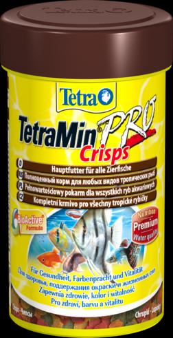Тетра Корм TetraMin Pro Crisps для всех видов рыб, чипсы, в ассортименте, Tetra