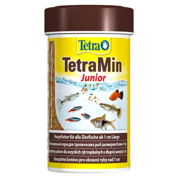 Тетра Корм TetraMin Junior для мальков и мелких рыб, крупа, 100 мл, Tetra